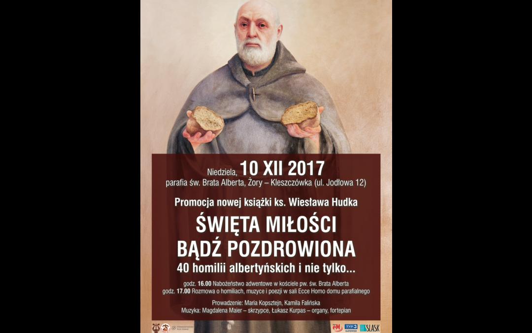 Zaproszenie na spotkanie z ks. Wiesławem Hudkiem