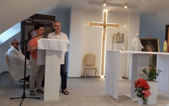 """Rekolekcje """"Modlitwa rodzinna"""" w Pratulinie"""