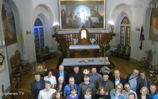 Rozpoczęcie roku formacyjnego na Łotwie